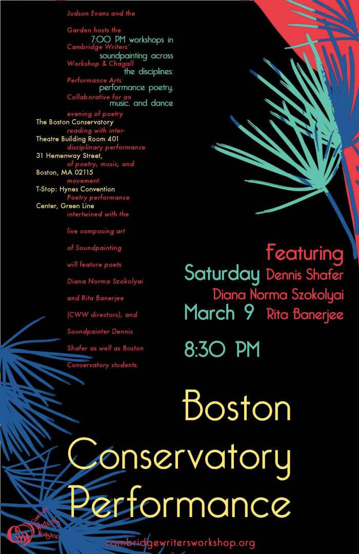 Soundpainting with Poetry, Dance, and Music Workshop & Performance at The Boston Conservatory